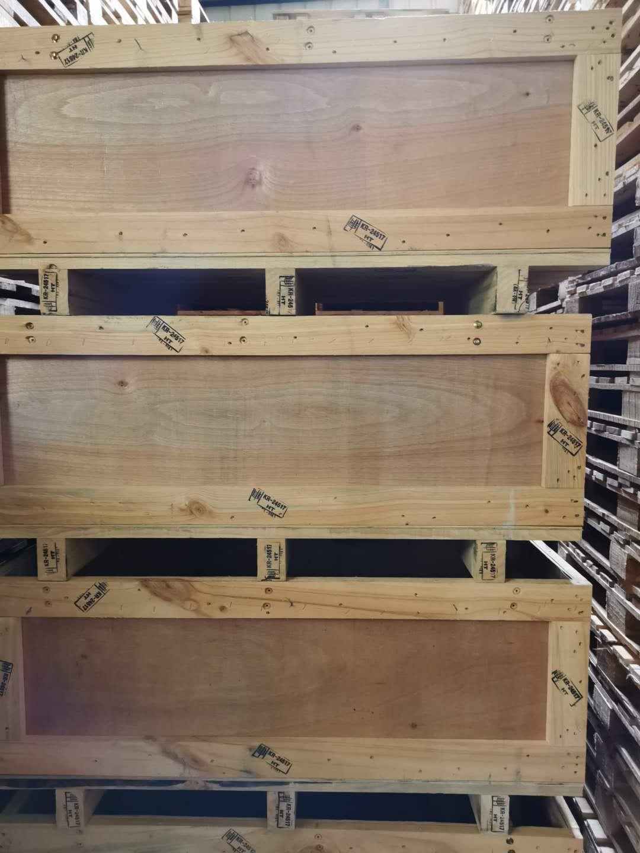 四川进口木包装箱销售案例